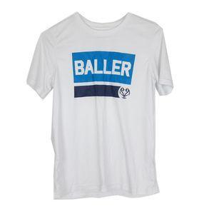 Under Armour Boys Baller White T-shirt Youth XL